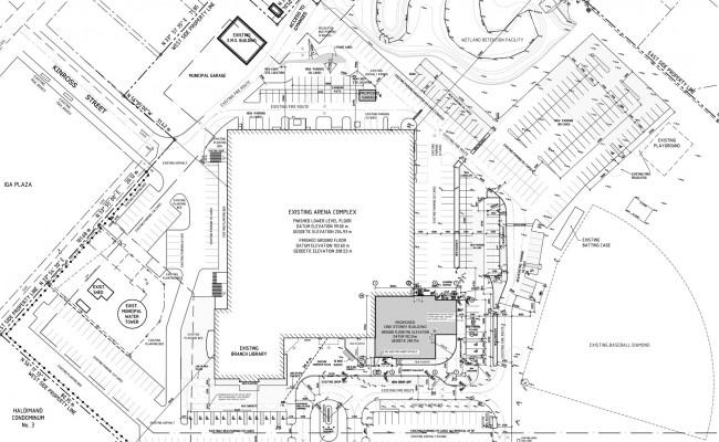 Caledonia Site Plan