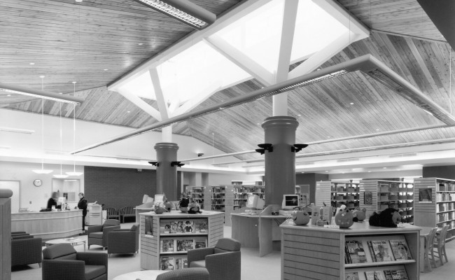 innisfil library bw